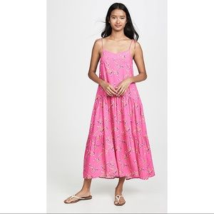 NWT PLAYA LUCILA   Floral Dress In Pink Floral